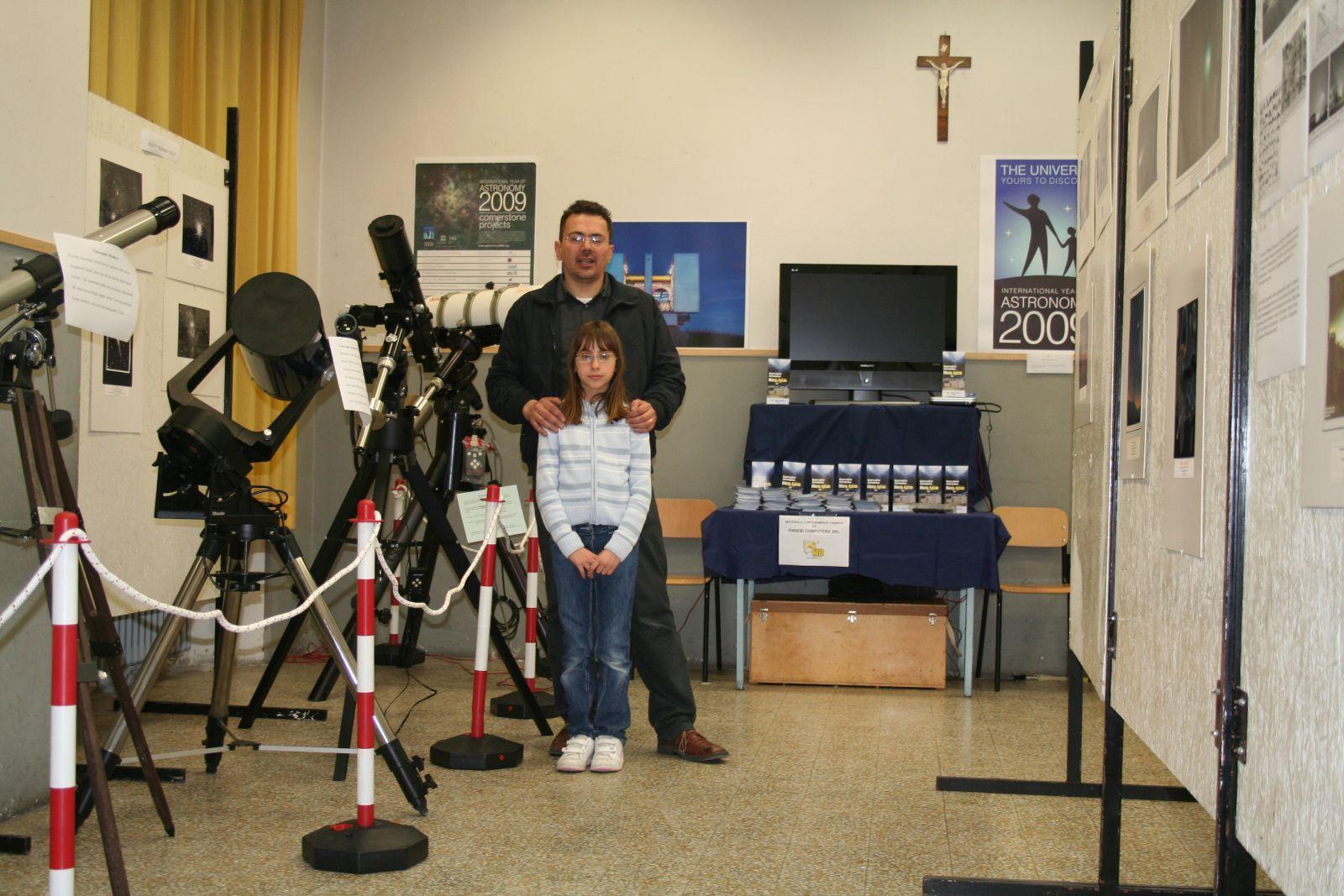 La mostra dellástronomia al 1 Maggio a Fornaci